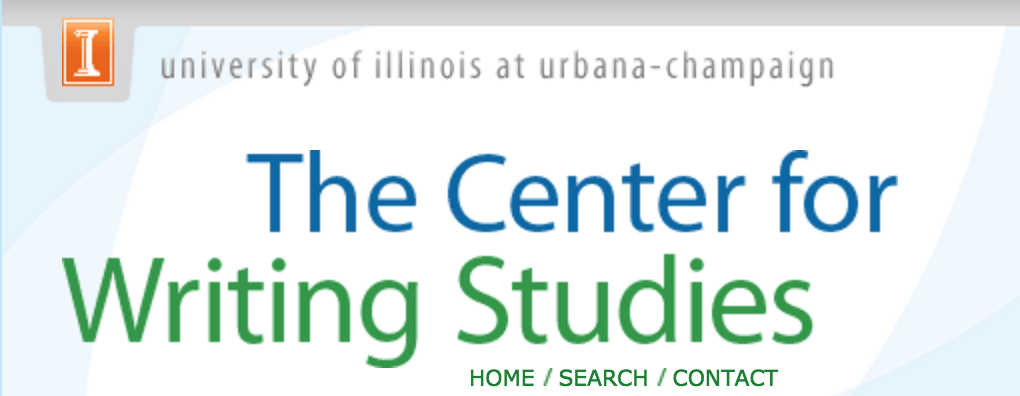 the center for writing studies at UIUC